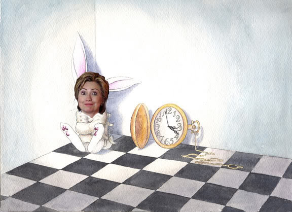 Hillary_as_White_Rabbit