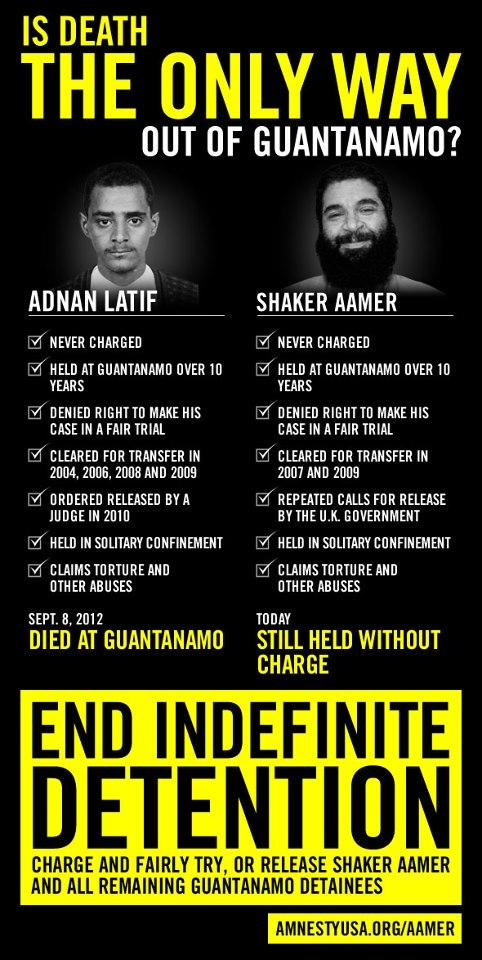 Shaker Aamer Guantanamo prisoner